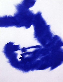 Andrej Monastyrskij, Dona Nelson, Vargas-Suarez Universal, Tom Wood - Vargas-Suarez Universal Blue Holes in the Mega-Island, 1996/2000. Ballpoint