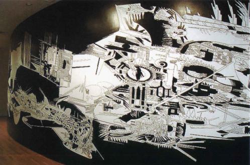 Vargas-Suarez Universal – STARDUST – new wall drawings - Thomas Erben Gallery
