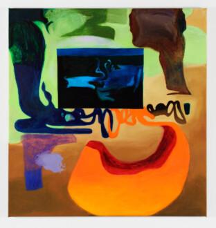 Middle European Mysticism - Viktorie Langer, <i>Good Morning</i>, 2019. Oil and acrylic on primed linen canvas, 95 x 100 cm.