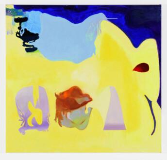 Middle European Mysticism - Viktorie Langer, <i>Everyday Bread</i>, 2019. Oil on primed linen canvas, 100 x 95 cm.