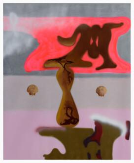 Middle European Mysticism - Viktorie Langer, <i>Possession</i>, 2019. Oil and acrylic on primed linen canvas, 170 x 140 cm.