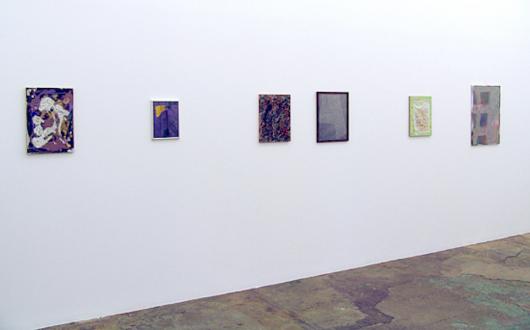 Handshakes – Elaine Stocki, Whitney Claflin, Ian Campbell - Whitney Claflin, installation view, west wall.