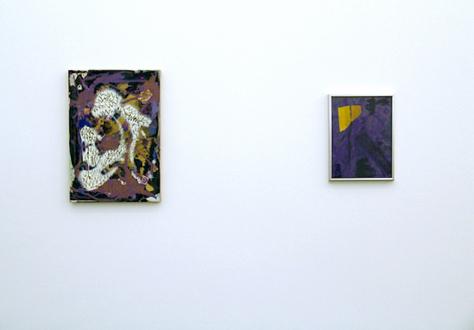 Handshakes – Elaine Stocki, Whitney Claflin, Ian Campbell - Whitney Claflin, installation view.