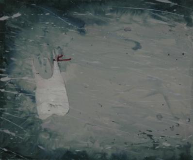 Chen Ke – Li Jikai – Wei Jia - Wei Jia, Teeth, 2007. Acrylic on canvas, 24 x 20 in.