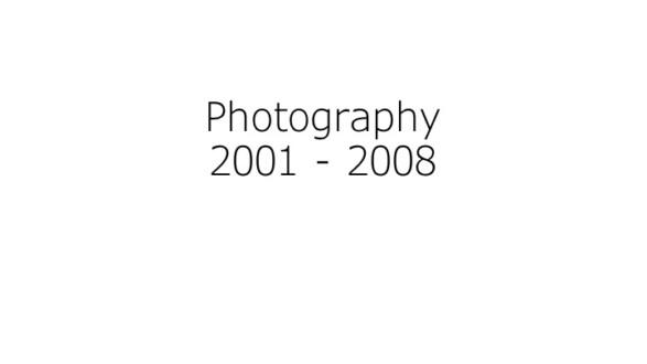 Photography - Thomas Erben Gallery