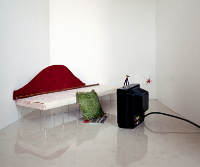 Yamini Nayar - The Splat was Seen in the In-Between, 2005. C-print, 20 × 24 in. ed of 5 (+2 AP)