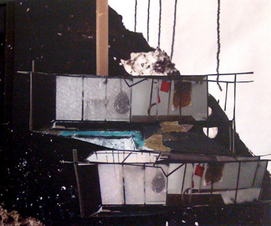 Yamini Nayar – Head Space - Mobile Shift, 2011. C-print, 20 x 24 in, edition of 5 (+2 AP).