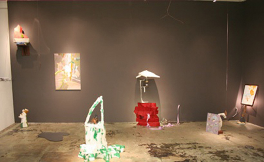 Pia Maria Martin, Haeri Yoo, Yuh-Shioh Wong - Yuh-Shioh Wong: installation view, 2007.