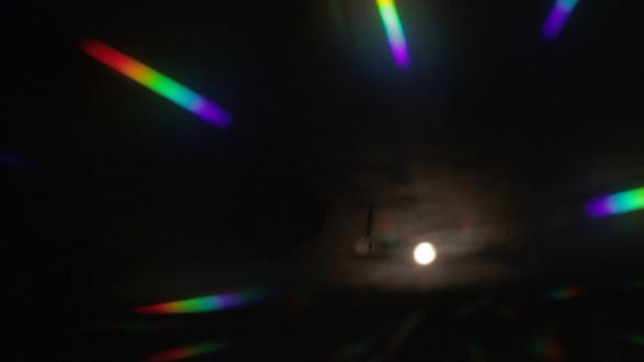Spirited Densities – Ryan McLaughlin, Zach Nader, Ferdinand Penker, Emma Webster - Zach Nader, stage blind, 2016. Single-channel HD video, 3 minutes 6 seconds