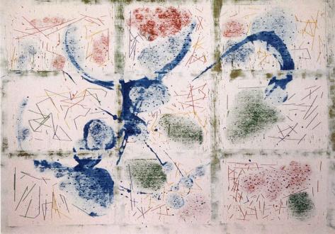 Animate Matter – Pia Maria Martin, Dona Nelson, Richard Staub, Rose Wylie - Thomas Erben Gallery