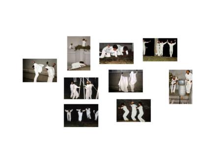Performance Photographs - <i>Flying</i>, 1982/2014. Digital Print.