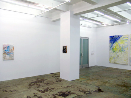 in situ - Installation view, south and west wall.