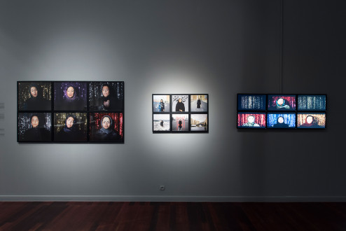 Newsha Tavakolian - Installation view, <i>Listen</i>, 2019, Mullhouse, France.