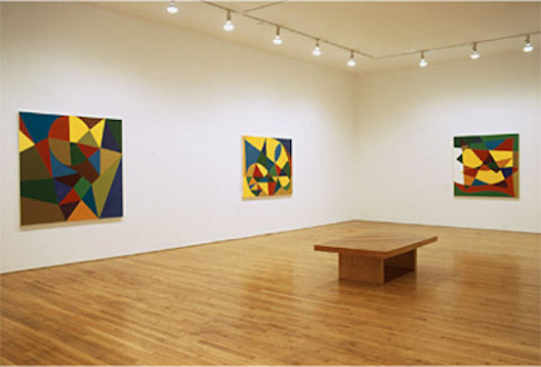 New Paintings (2001) - Installation view from: