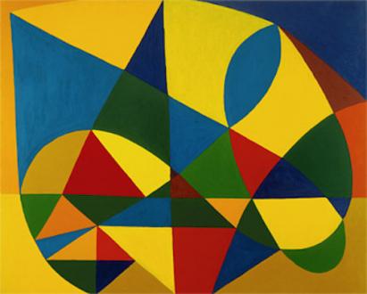 "Harriet Korman - Untitled, 2000, 48 x 60"", oil on canvas"