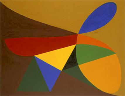 "Harriet Korman - Untitled, 2000, 42 x 54"", oil on canvas"