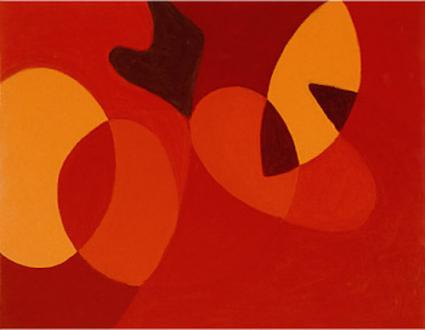 "Harriet Korman - Untitled, 2003, 14 x 18"", oil on canvas"