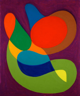 """Recent Paintings and Drawings - Untitled, 2005, 36 x 30"""", oil on canvas"""