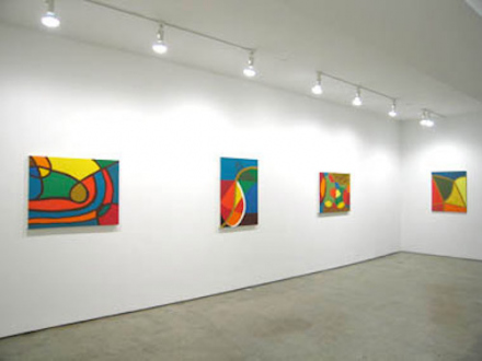 Recent Paintings and Drawings - Installation view from,