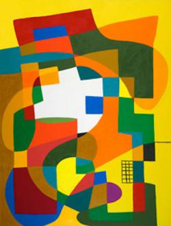 "Harriet Korman - Untitled, 2007, 72 x 54"", oil on canvas"