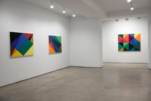 Harriet Korman - Installation view from,