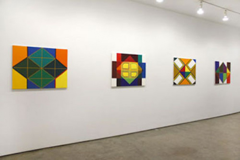 Line or Edge, Line or Color: New Paintings and Drawings - Thomas Erben Gallery