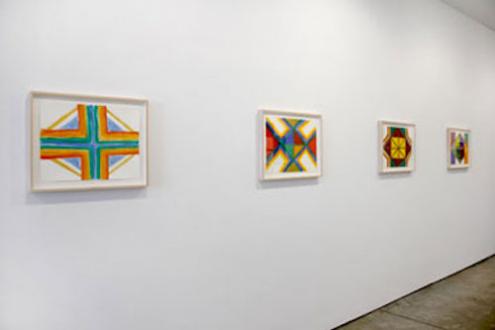 Harriet Korman - Installation view from: