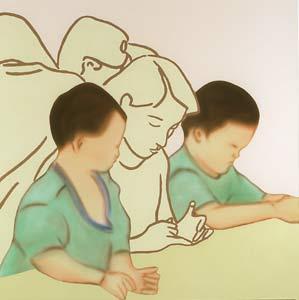 Naofuni Maruyama – Paintings - Thomas Erben Gallery
