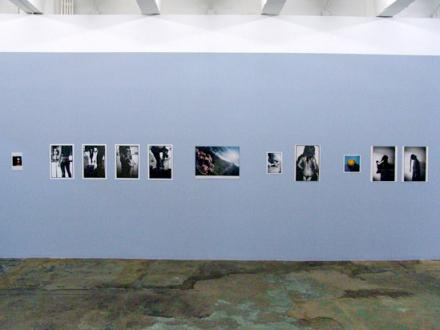 PAT – Unseen, unheard, unexplained - PAT - installation view, west wall.