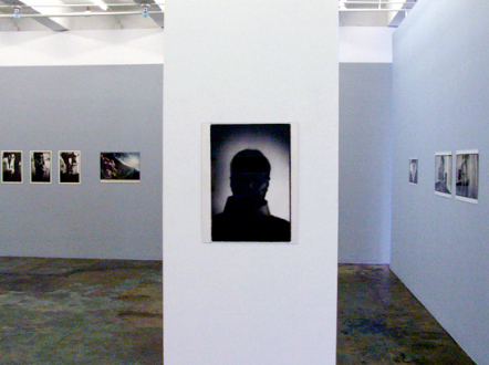 PAT – Unseen, unheard, unexplained - PAT - installation view towards west and north wall.