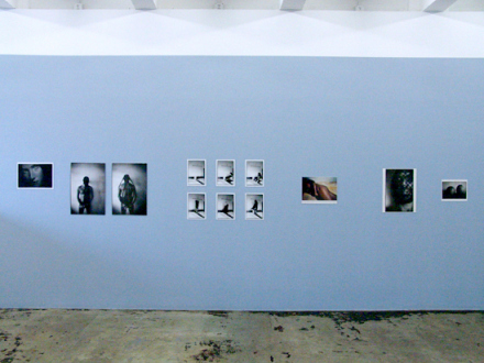 PAT – Unseen, unheard, unexplained - PAT - installation view, east wall.