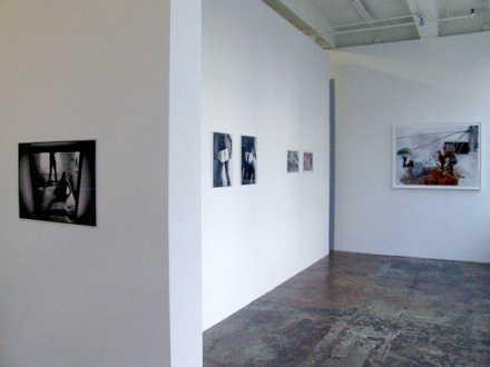 PAT – Unseen, unheard, unexplained - PAT - installation view, project space.