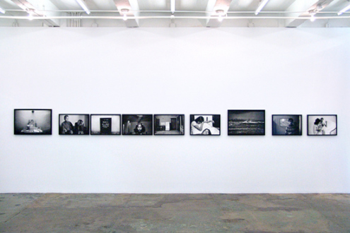 Pablo Bartholomew – Outside In - Installation view, west wall.