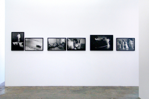 Pablo Bartholomew – Outside In - Installation view, north wall.