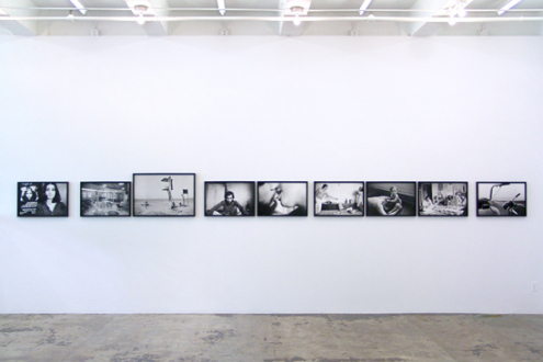 Pablo Bartholomew – Outside In - Installation view, east wall.